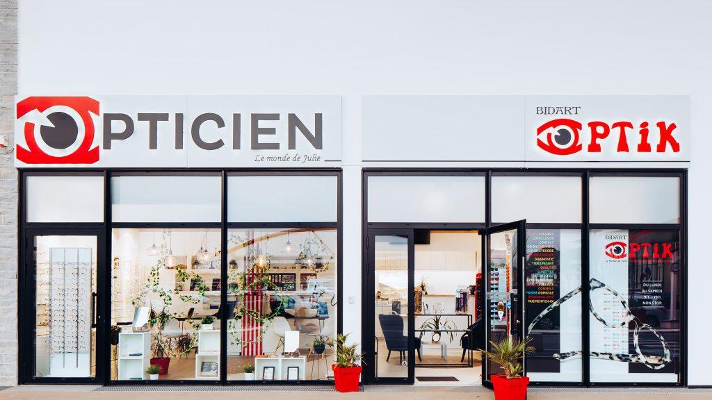 Opticien à Bidart - Bidart Optik - Le Monde de Julie - lunettes - Intermarché Bidart